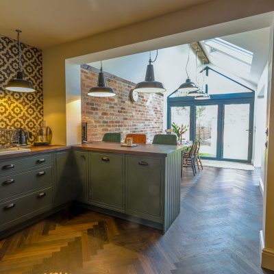 Our Completed Kitchen Extension